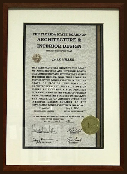 VICTORY For Interior Design In Florida